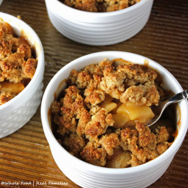 Whole Grain Apple Crumble Recipe