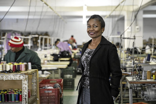Exodus in her Doornfontein factory. Picture: SUPPLIED