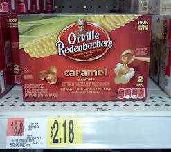 Photo: I HAVE to have my caramel popcorn especially during a movie, I think polar bears would like caramel popcorn too.