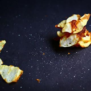 Homemade Baked Salt and Vinegar Chips