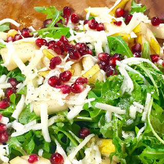 Pear, Pomegranate & Pecorino Salad
