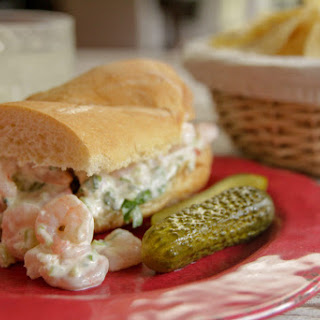 Shrimp Salad Po-Boy Recipe