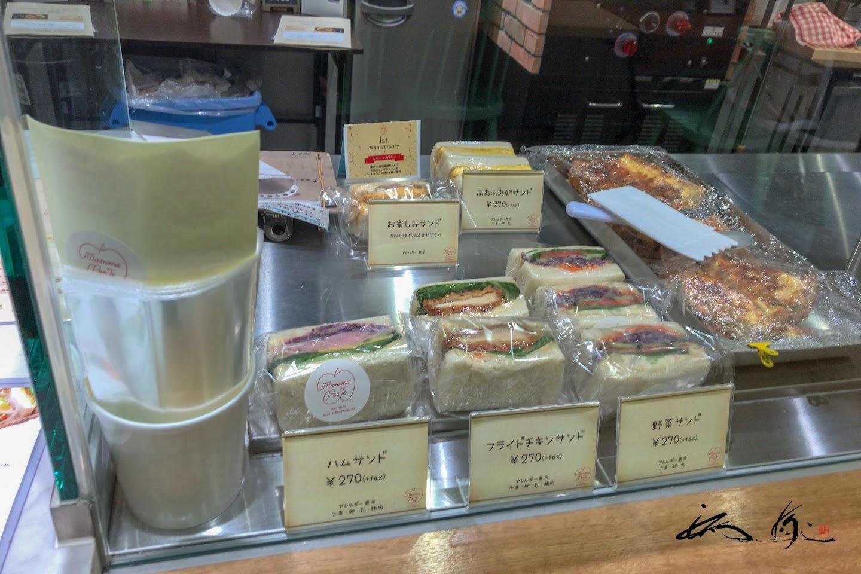 各種サンドイッチ