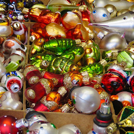 Christmas Market by Nick Swan - Artistic Objects Other Objects ( market, colour, decorations, christmas )