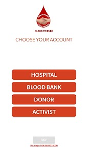 Blood Friends – Blood Donor App 1