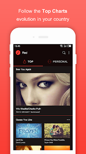 Free Music for Youtube Player: Red+ - náhled