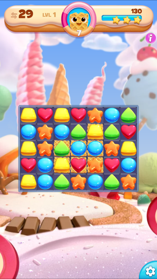 Cookie Jam Blast - Match & Crush Puzzle– captură de ecran