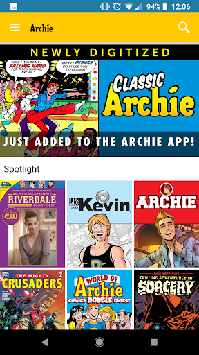 Archie Comics screenshot