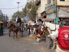 Photo: The streets of Old Delhi
