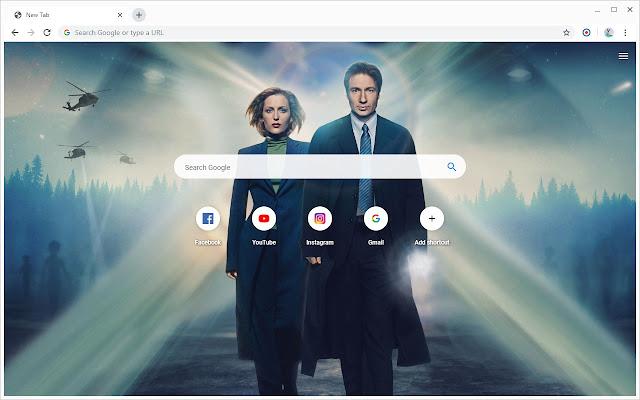New Tab - The X-Files