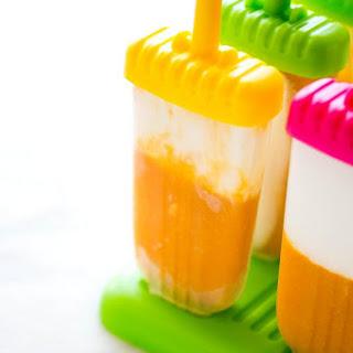 Mango Vanilla Popsicle..