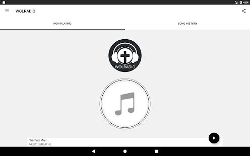 Wolradio - náhled