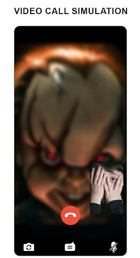 Scary Doll Fake Video Call simulator screenshots 2