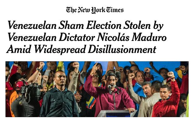 Stop Whitewashing Nicolás Maduro
