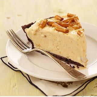 Frozen Peanut Butter-Pretzel Pie.
