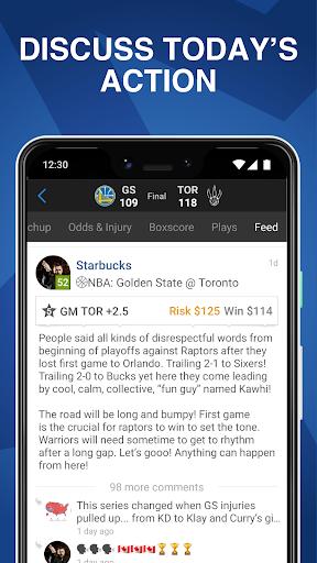 Onside Sports: Scores, Live Odds & Bet Tracking Screenshots 6