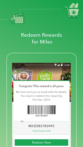 Miles - Earn & Redeem for Exclusive Rewards screenshot 5