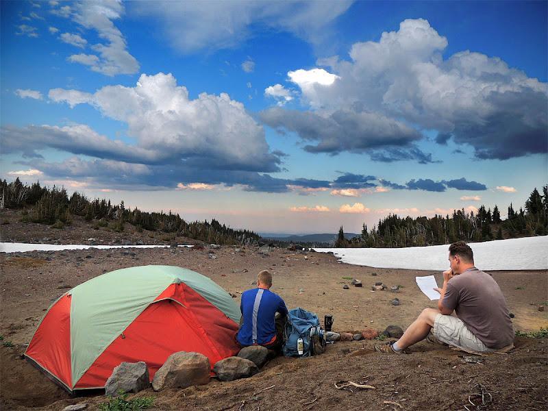 Photo: Evening at Camp Lake