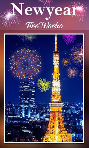 2019 New Year Fireworks Live Wallpaper 1.0.10 screenshots 2