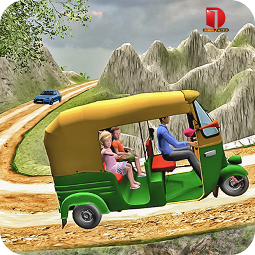 Mountain Auto Tuk Tuk Rickshaw - free games (game)
