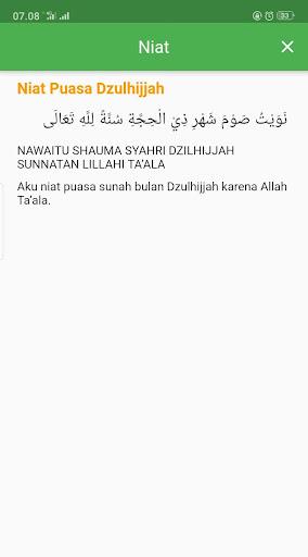 KALENDER HIJRIAH - Puasa Sunnah, Jadwal Shalat 1.2.5 screenshots 5
