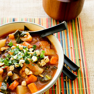 African Potato and Cauliflower Stew.