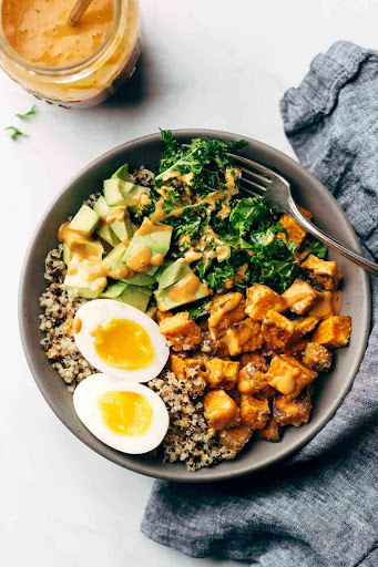 Slice of Life Day 19: Chipotle Tahini Bowls