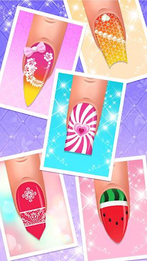 Nail Salon : Nail Designs Nail Spa Games for Girls  screenshots 5