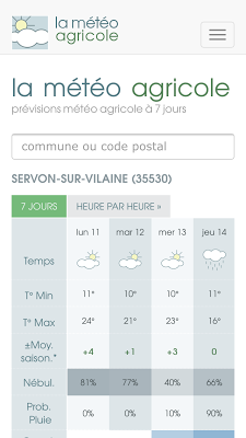 La Météo Agricole - screenshot