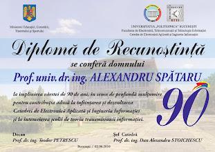 Photo: Diploma de recunostinta