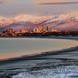 Anchorage, Alaska  by Patricia Phillips - Landscapes Travel ( alaska anchorage cook inlet )