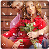 Love Heart Photo Keyboard