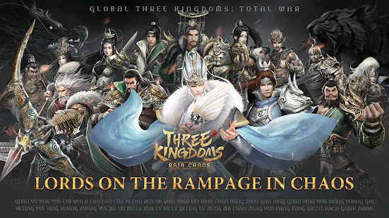 Three Kingdoms: Raja Chaos for PC-Windows 7,8,10 and Mac apk screenshot 1
