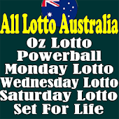 All Lotto Australia,OzLotto,Powerball,Set For Life