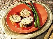 Stuffed Pork Tenderloin With Cilantro-lime Pesto Recipe