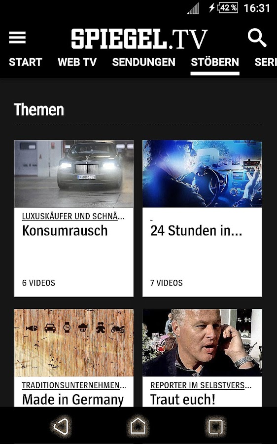 Spiegel tv android apps on google play for Spiegel android app