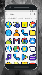 Cute Icon Pack app for Android screenshot