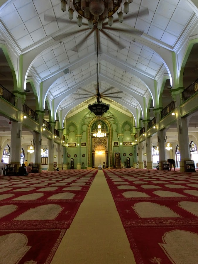 Sultan Mosque, Singapore by Lolotan Dalimunthe - Buildings & Architecture Places of Worship ( interior, mosque, sultan mosque singapore, singapore, lolotan )