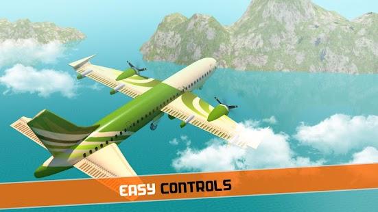 Airplane Pilot Sim: US Army Cargo Transporter - náhled