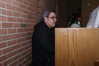 Photo: El Señor Gusti Daija, Director de Música  en la Iglesia y en la Escuela San Judas.