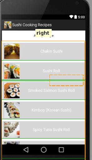 寿司のレシピ
