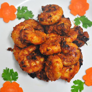 Moroccan Spicy Prawns