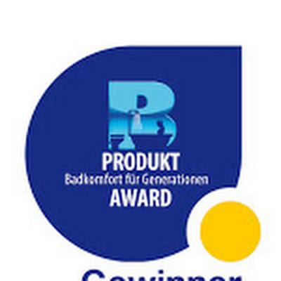 """HSK mit Produkt-Award """"Badkomfort für Generationen"""" ausgezeichnet"""