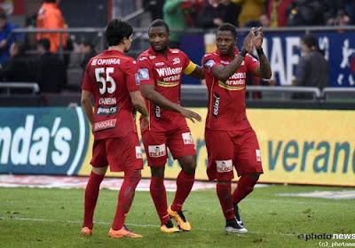 KV Oostende geeft 2-0-voorsprong uit handen tegen Moeskroen en moet na doelpuntenfestival vrede nemen met punt