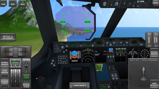 Turboprop Flight Simulator 3D Apk Download For Android and Iphone 3