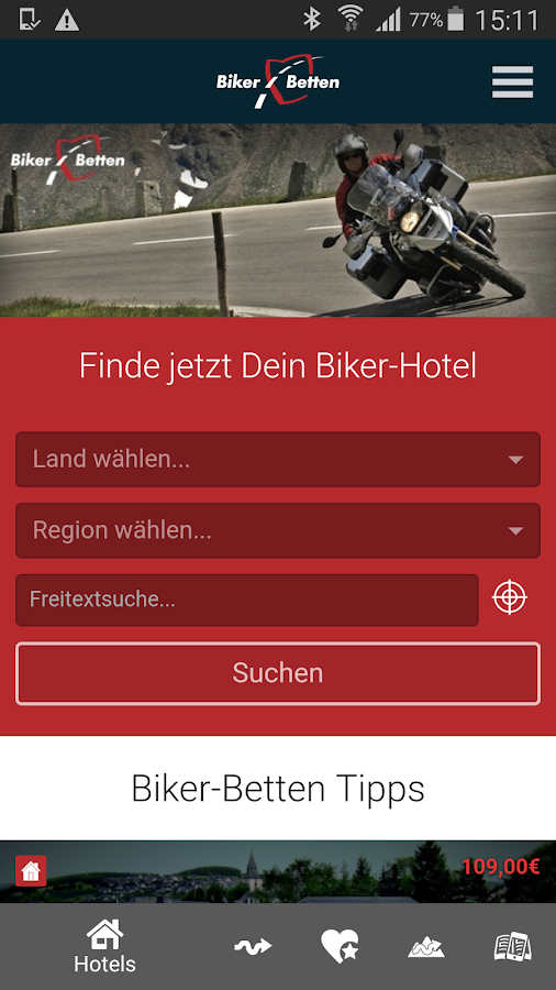Biker Betten- screenshot