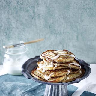 Gluten Free Vegan cinnamon pancakes