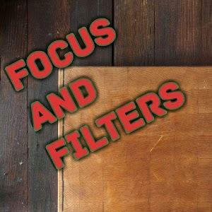 focus n filters - Textagram