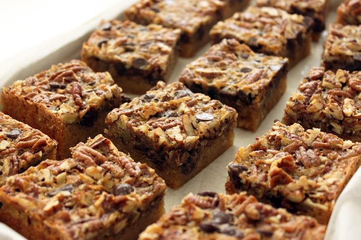 Chocolate Pecan Pie Butter Bars Recipe