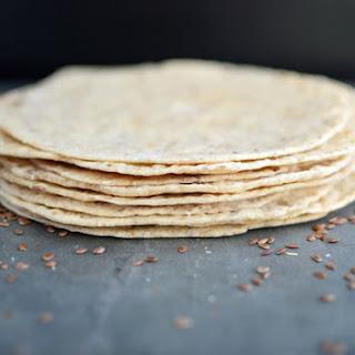 Homemade Spelt and Flax Tortillas